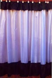 cortina de baño colores a elección trabajos a medida