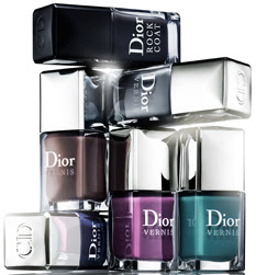 nail polish trends 2011,dior rock your nails, Blue label 997 / Purple Mix 887 / Nirvana 704 / Underground 824/ Perfecto 804/ Rock Coat 907