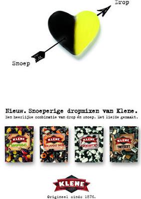 Snoeperige dropmixen van Klene.