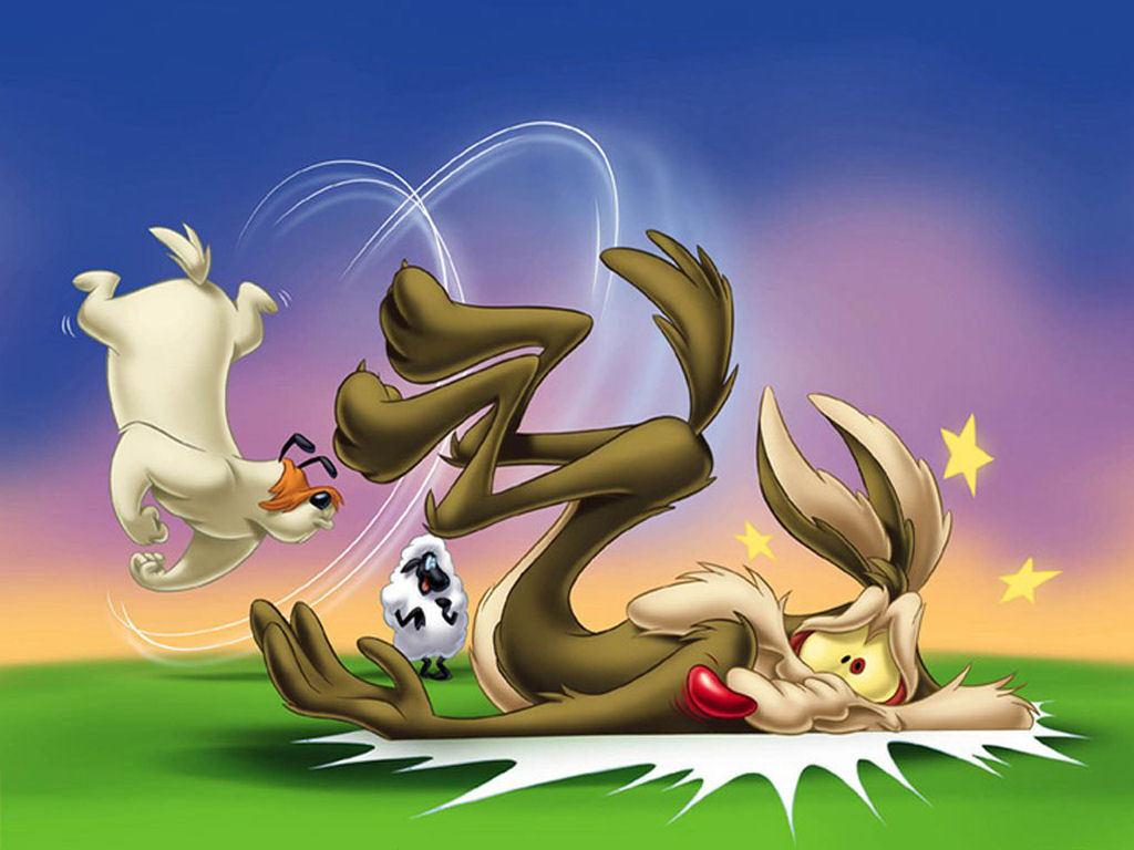 Wile E. Coyote Cartoon