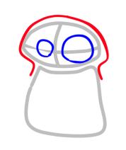 How draw chabi dinos (step By step) F+dino+3