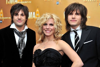 The Band Perry - No relation to Russell or Katy