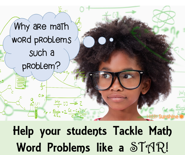 Teach your students how to be STAR problem solvers.  Learning problem solving steps and strategies will help them solve any word problem.