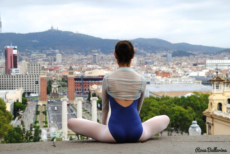 fotografia de ballet