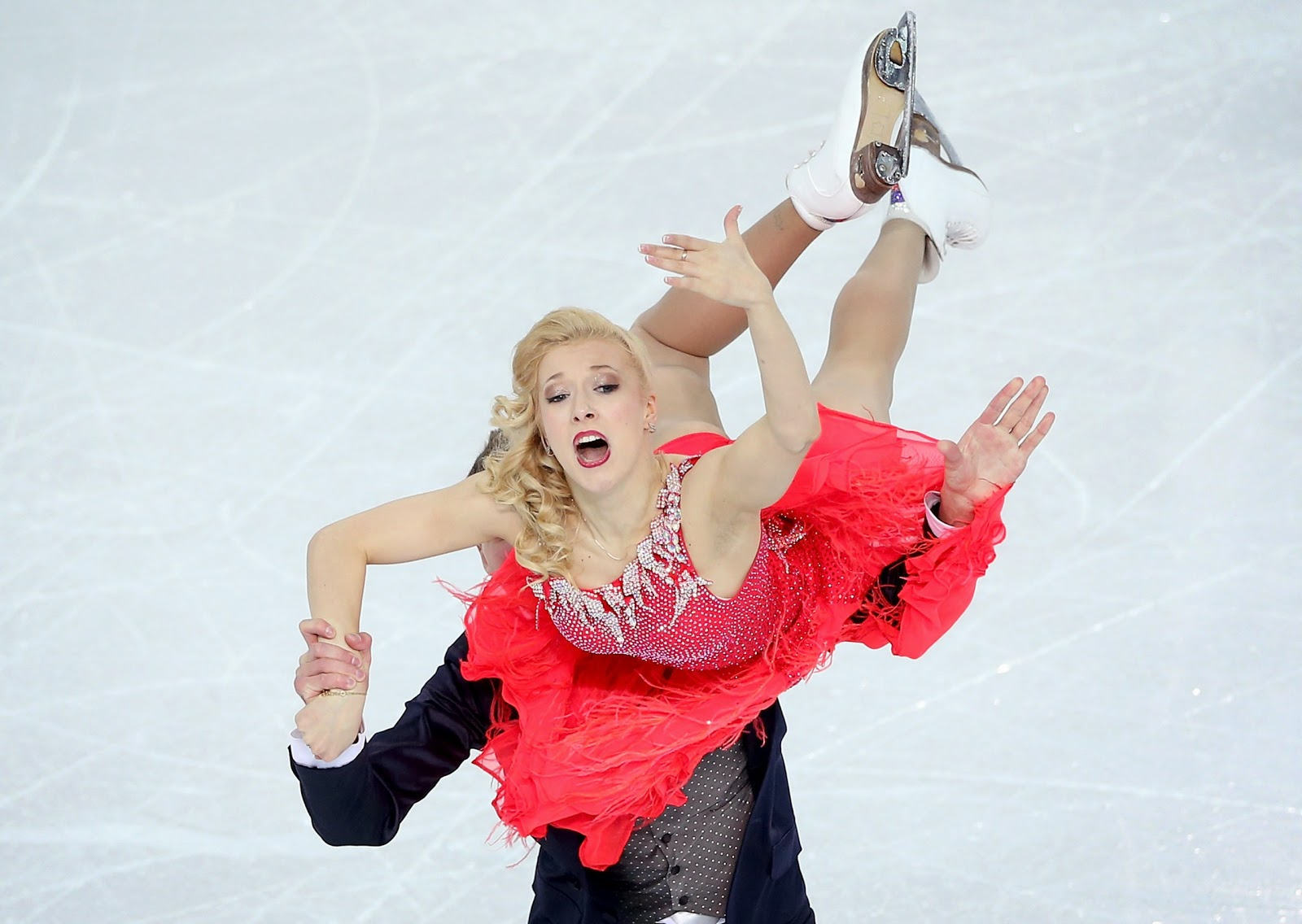 Bobrova and Soloviev,Olympics 2014,Team Figure Skating