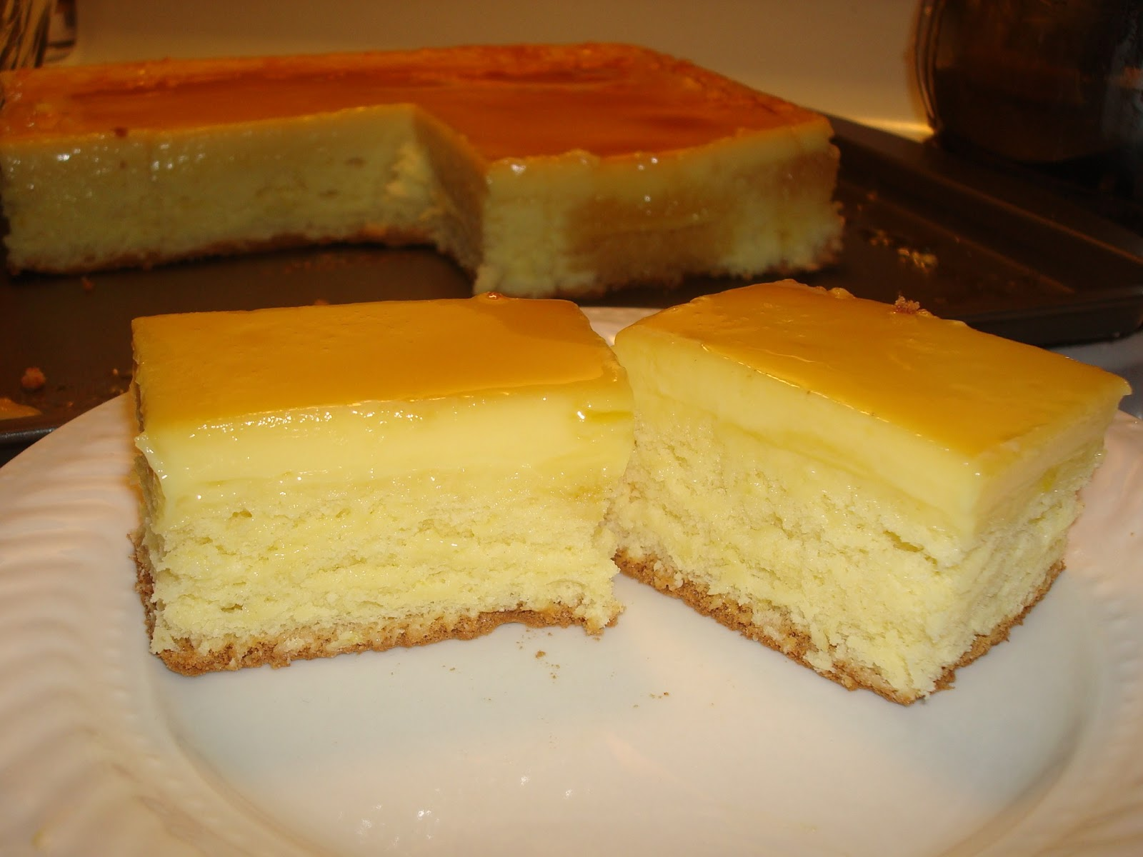 Filipino Cake Recipes With Pictures : Boys, Baking and Beyond: Custard Cake Filipino Style