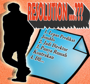 Resolusi! Tak Harus Menunggu Tahun Baru