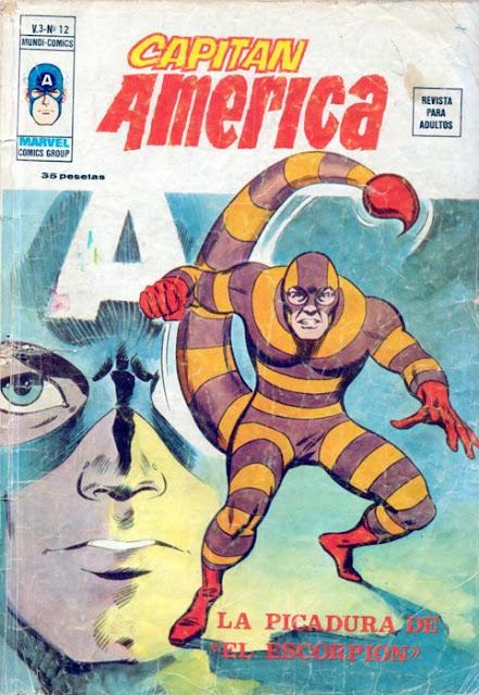 Portada de Capitán América Volumen 3 Nº 12 Ediciones Vértice