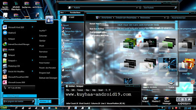 THEME WINDOWS 7 BLURE GLASS