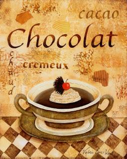 Etiqueta para regalar chocolate