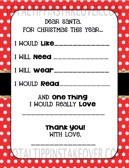 want need wear read list so were taking that approach i made this printable for my girls to fill out and thought i would share it with yall
