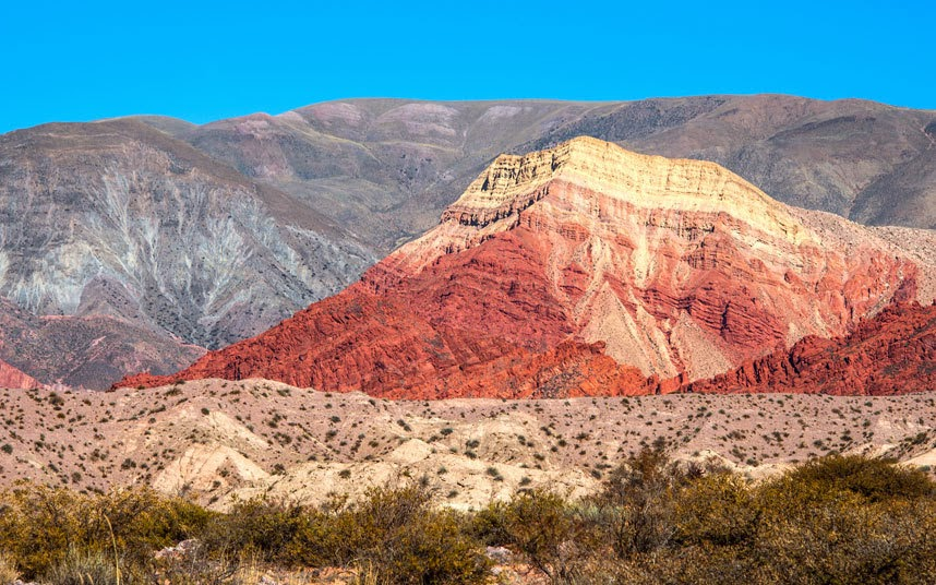 Quebrada de Humahuaca, Argentina This Unesco World Heritage site is set in the Jujuy province of north-west Argentina. The region has been populated for at least 10,000 years. The Rio Grande river runs through the valley during the summer.