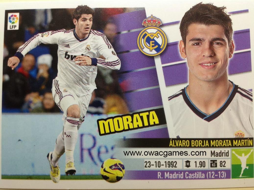 Liga ESTE 2013-14 Real Madid - 13B - Morata