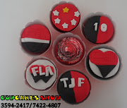 Cupcakes do flamengo