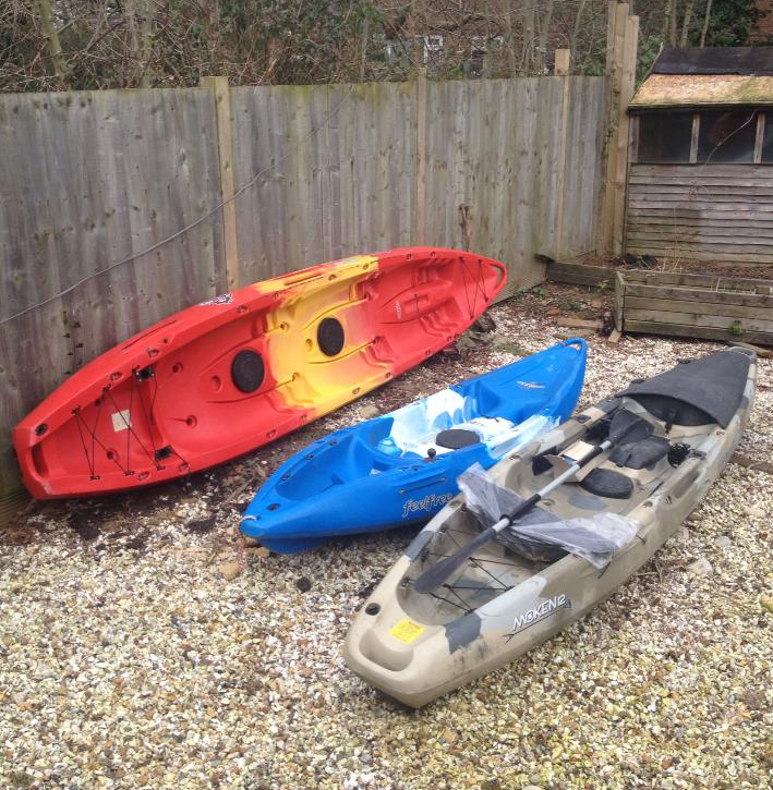 Shop news blog kayak lure fishing in southampton water for Sea fishing kayak