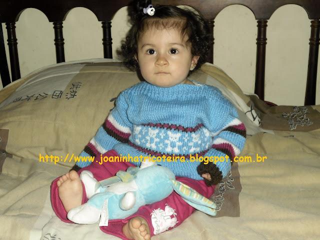 casaquinho de tricot para bebê
