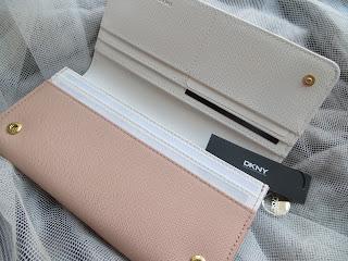 Designer Pink Nude Wallet Purse Ladies Harrods Review Blogger Girl DKNY