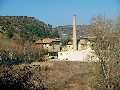 L'antiga fàbrica de filatures El Molí de Balsareny