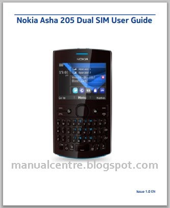 Nokia Asha 205 Manual Cover