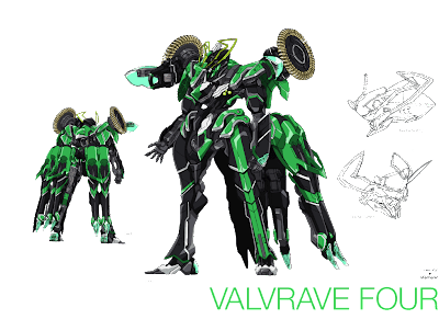 VALVRAVE FOUR