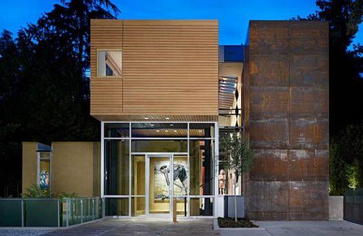 Desain Rumah Modern Pecinta Seni