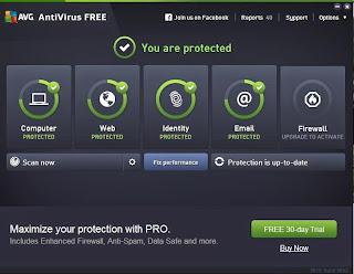 برنامج انتى فيروس AVG فعال وممتاز وخفيف