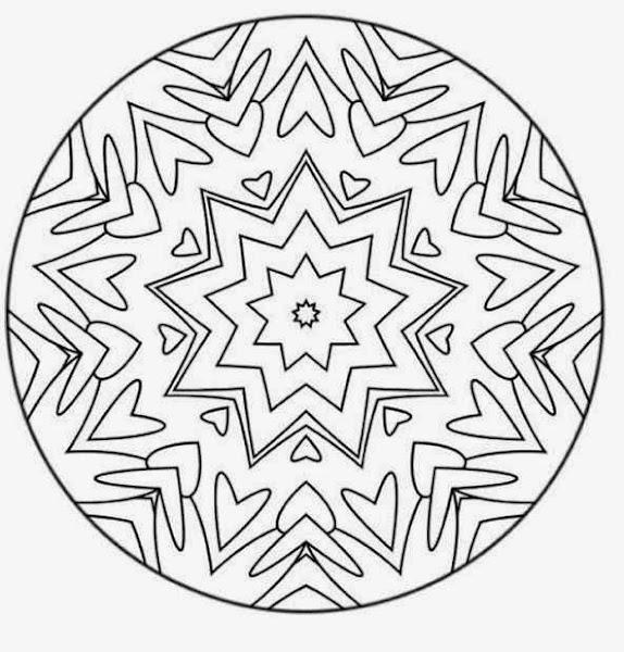 Advanced Mandala Coloring Pages Free