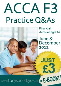 ACCA F3 Practice Questions and Answers