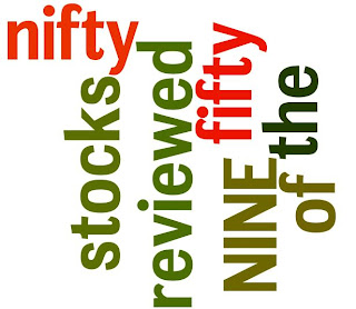 NINE of the nifty fifty stocks reviewed