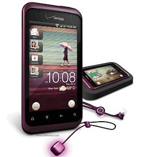 harga ponsel android CDMA HTC Rhyme CDMA 2012