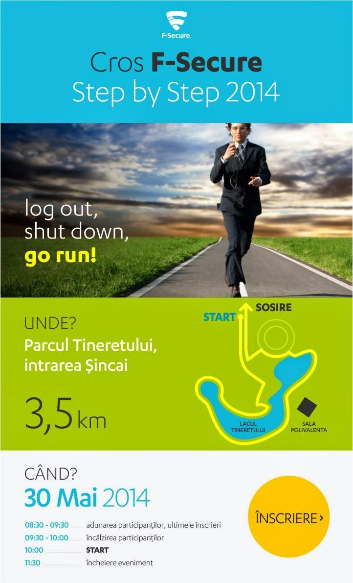 Nu stiti cum sa scapati de virusi? Alergati la Crosul F-Secure din Parcul Tineretului, Bucuresti, pe 30 Mai 2014