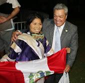 Hipódromo do Cristal # Torneio de Joquetas das Américas - Elena Pomahualca do Perú a Grande Campeã