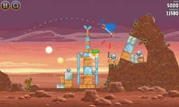 Download Angry Birds Star Wars HD Android screenshots1