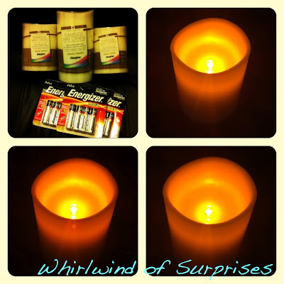 Energizer Flameless Wax Candles Review