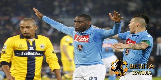 Hajar Parma, Napoli ke Tiga Besar