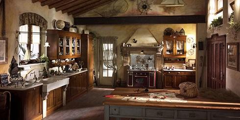 Decoraci n de cocinas r sticas colores en casa - Arredo cucina rustica ...