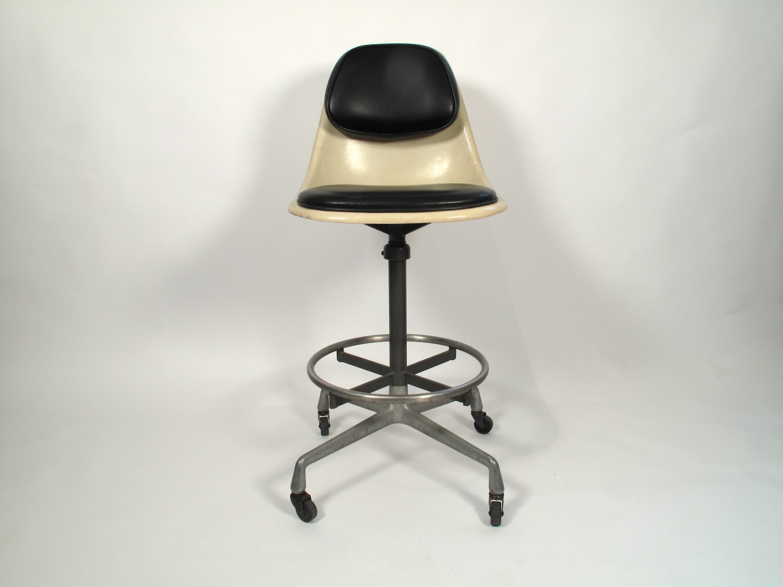 just in modern charles eames 'psc' drafting stool 's - charles eames 'psc' drafting stool 's