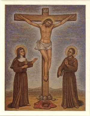 PACE & BENE - TOTUS TUUS - IN VERBO TUO - UT UNUM SINT: Santa Chiara & San Francesco