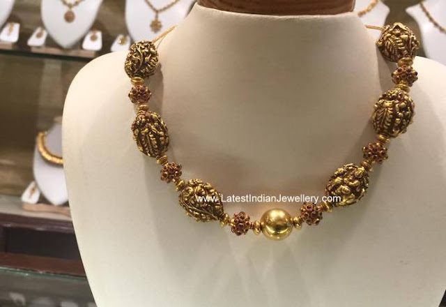 Dasavatharam gold Necklace