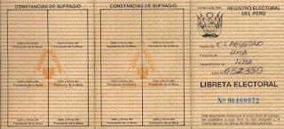 En 1984 se crea la Libreta Electoral de 8 Dígitos