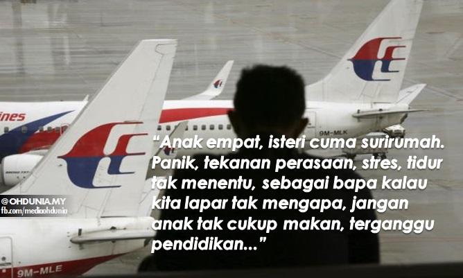 Luahan bekas pekerja MAS setelah 100 hari ditamatkan perkhidmatan