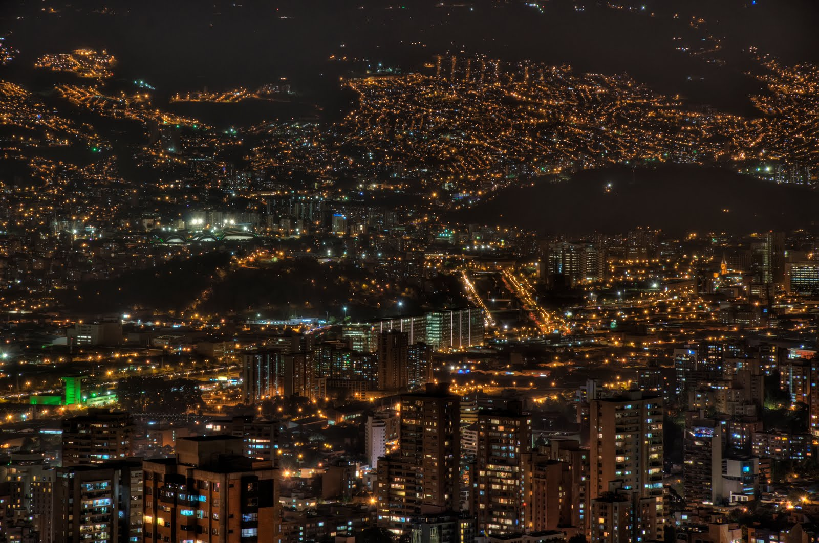 Chase Juan Jaramillo Medellin At Night
