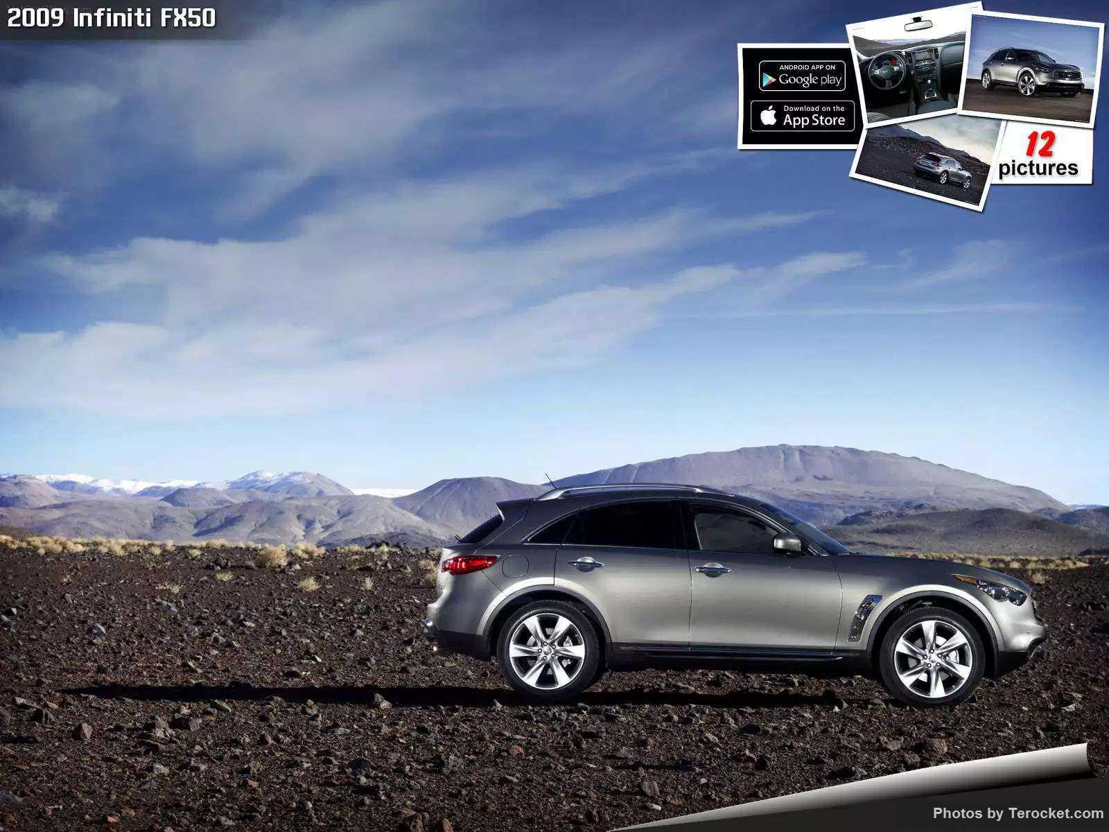 Hình ảnh xe ô tô Infiniti FX50 2009 & nội ngoại thất