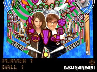 Austin Powers Pinball PSX Game Pitcure