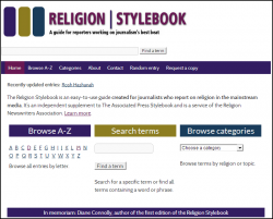 The Religion Stylebook