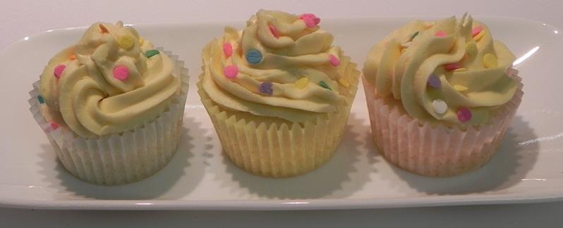 Whipped Cream Cupcakes