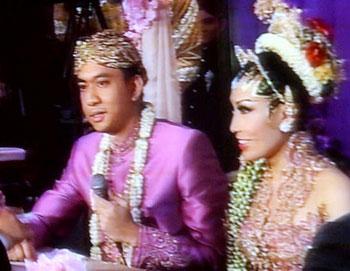 Pernikahan Ayu Dewi