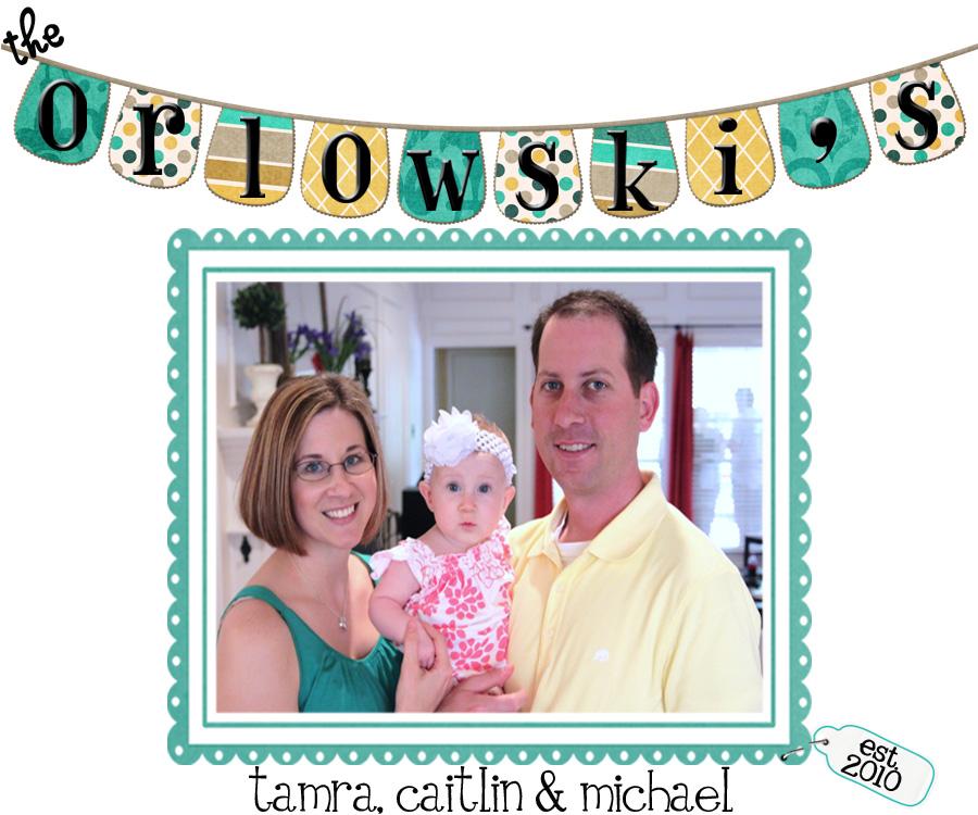 Orlowski Family Blog