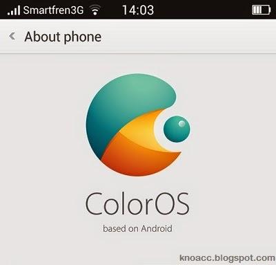 Custom ROM ColorOS (OPPO) untuk Andromax New V [N986D]