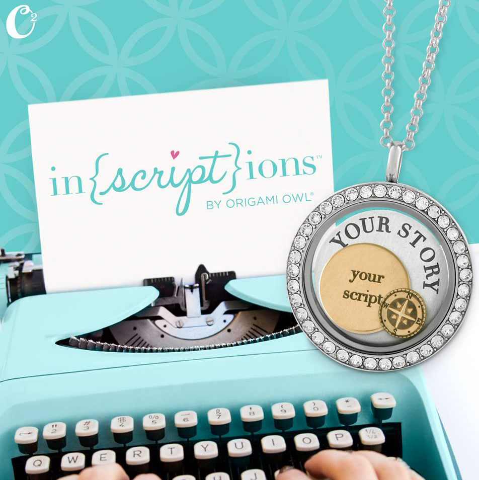 Introducing Inscriptions by Origami Owl - Shop StoriedCharms.origamiowl.com